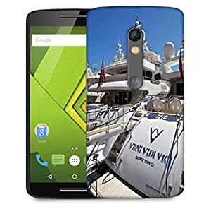 Snoogg Veni Vidi Vici Designer Protective Phone Back Case Cover For Motorola Moto X Play