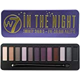 W7 IN THE NIGHT SMOKEY SHADES EYE COLOUR PALETTE 14.4g