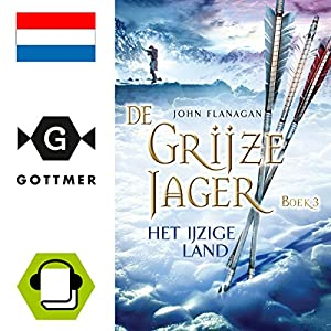 Het ijzige land (De Grijze Jager 3) Audiobook