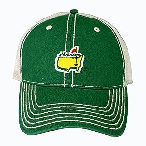 Masters Golf Trucker Hat - Green