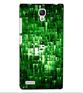 ColourCraft Abstract Image Design Back Case Cover for XIAOMI REDMI NOTE 4G