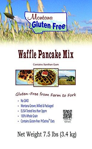 Gluten Free Pancake Mix - Waffle Mix ~ 7 1/2 Pound Bag (Belgian Waffle Mix Gluten Free compare prices)