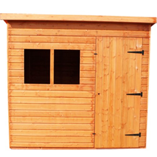 Woodlands Super Pent Shed : Size - 12 X 8