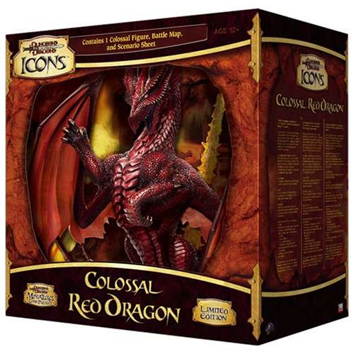 Colossal Red Dragon