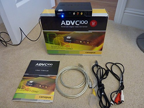 Find Cheap Canopus ADVC-100 Advanced Digital Video Converter, Analog / DV