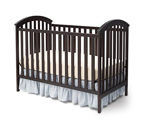 Delta Children Arbour 3-in-1 Crib, Dark Chocolate