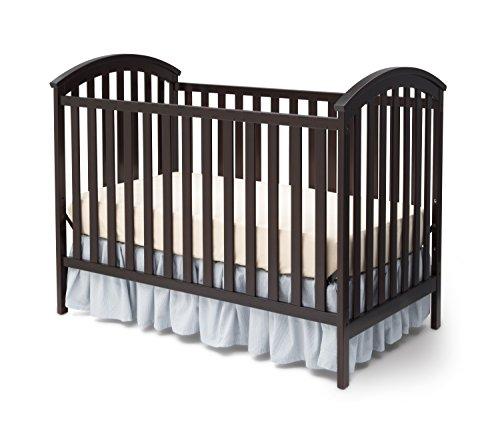 Delta Children Arbour 3-in-1 Crib, Dark Chocolate