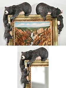 Bear Corner Huggers Woodland Decoration