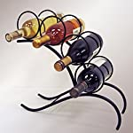 J&J Wire 4-Bottle Wine Rack