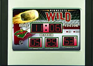 Buy Team Sports America NHL0128-908 Minnesota Wild NHL Scoreboard by Team Sports America