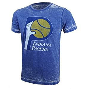 Indiana Pacers NBA Destructed Vintage T-Shirt XL by Majestic Threads