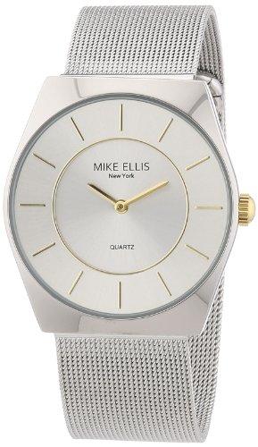 ¡Imbatible! Reloj analógico de cuarzo para hombre Mike Ellis New York modelo M1126ASM/1
