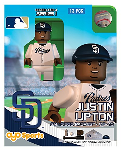 Justin Upton OYO MLB San Diego Padres G4 Series 1 Mini Figure Limited Edition