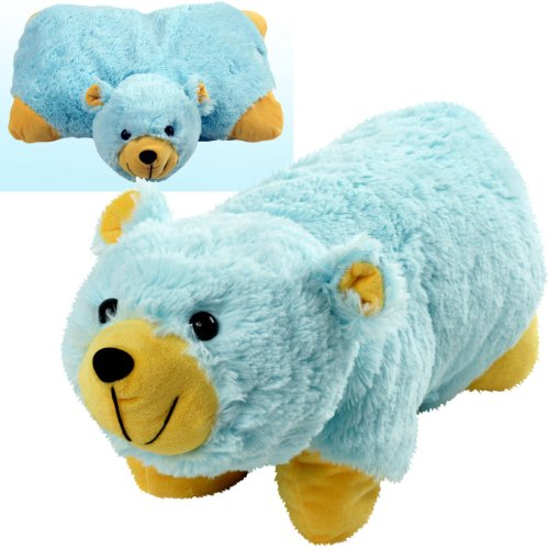 Cuddlee Pet Pillow - Bear Cuddlee Pets Are Excellent Companions for Long Trips or Vacations and Always Provide Kids with a Cuddly Buddy and a Comfortable Place to Lay Their Head