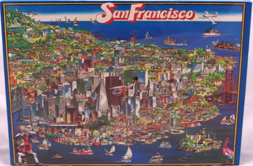 San Francisco 504 Piece Puzzle 21 in Y 14 In
