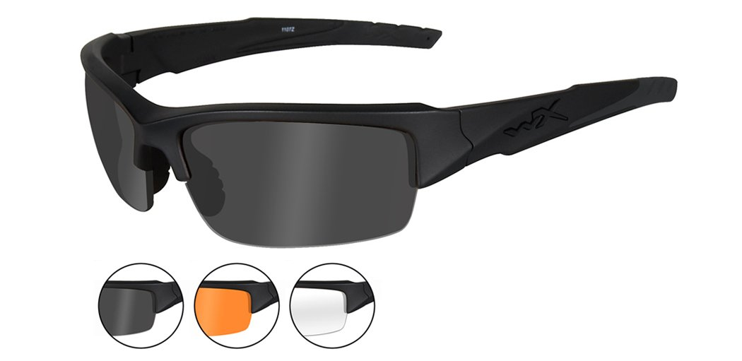 Wiley X Valor sunglasses. If they're good enough for the SEALs, they're more than good enough for you.