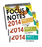 img - for Wiley CIAexcel Focus Notes 2014: Complete Set (Wiley CIA Exam Review Series) book / textbook / text book