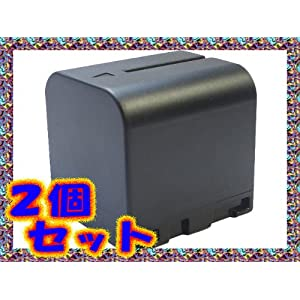 【クリックでお店のこの商品のページへ】【 2個 セット 】 ビクター JVC BN - VF714 / BN - VF714L 互換 バッテリー GZ-MG27 GZ-MG47 などに対応