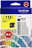 ブラザー工業 インクカートリッジ (イエロー) LC113Y