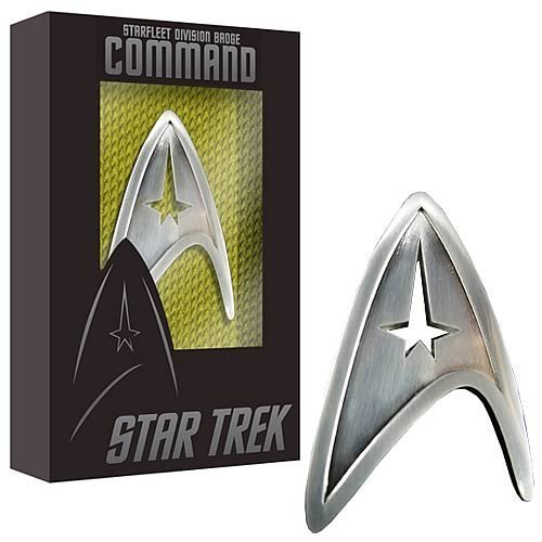 Star Trek Starfleet Command Division Badge Prop Replica