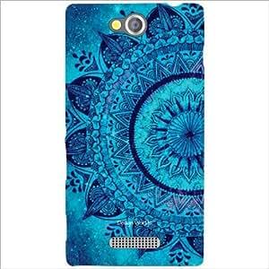 Design Worlds - Sony Xperia C Designer Back Cover Case - Multicolor Phone C...