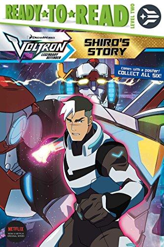 Shiro's Story (Voltron Legendary Defender) [Spinner, Cala] (Tapa Blanda)