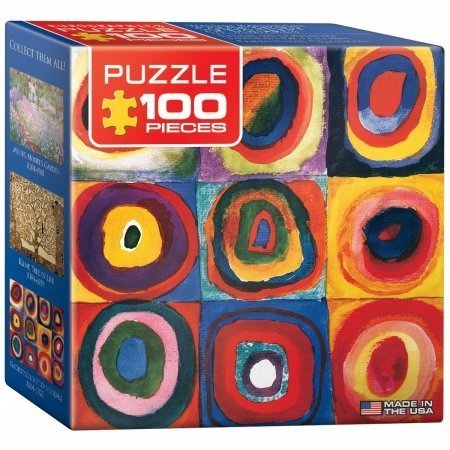 EuroGraphics-Color-Study-of-Squares-by-Wassily-Kandinsky-Mini-Puzzle-100-Piece-by-EuroGraphics
