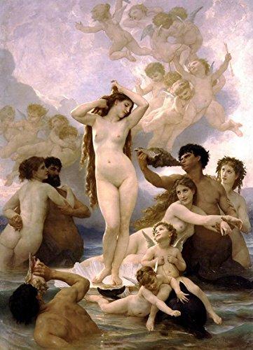 西洋絵画 『ヴィーナスの誕生』 ウィリアム・ブーグロー パリ オルセー美術館 ビーナス [並行輸入品]