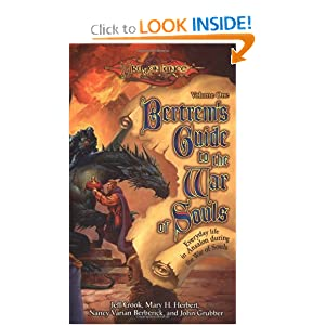 Bertrem's Guide to the War of Souls:  Vol. 1 by Jeff Crook, Mary H. Herbert, Nancy Varian Berberick and John Grubber