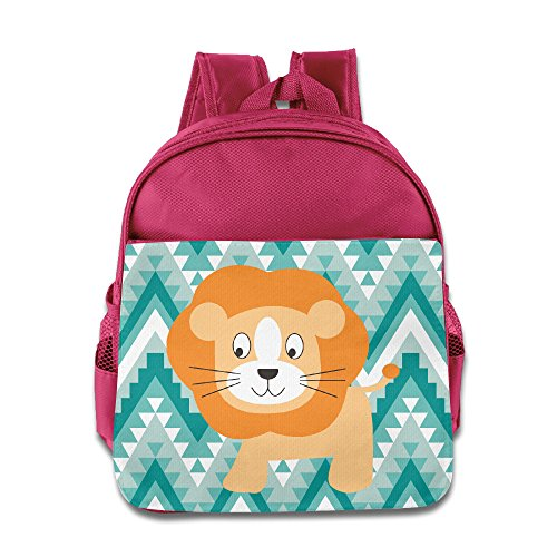 [TuSamLOO Little Lion Kid's Mini Backpack/Travel Bag Pink] (Victorias Secret Costume Ideas)