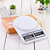 Sf 400 High Precision Electronic Scales Kitchen Scales Electronic Scale Household Food Baking Herbs Scales White
