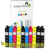 10 XL ColourDirect Ink Cartridges Replacement for Epson Expression Home XP102, XP202, XP212, XP215, XP205, XP225, XP30, XP302, XP305, XP312, XP315, XP322, XP325, XP402, XP412, XP415, XP405 XP405WH XP422 , XP425 Printers - 18XL