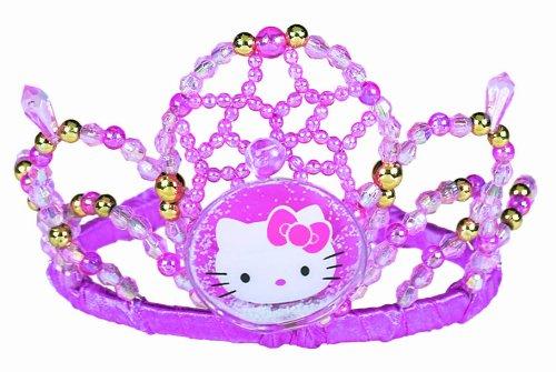 Imagen de Hello Kitty Party Supplies Purple galvanizado Tiara - 1 Cada