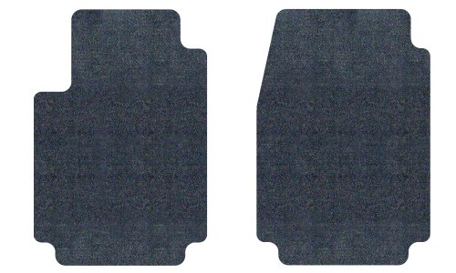 3D MAXpider Front Row Custom Fit Floor Mat for Select Nissan Cube Models Classic Carpet Black