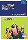Klasse vorbereitet - Gymnasium: Übergang 4 / 5 Mathematik