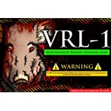"VRL-1 ""ultimate package"" Green and Red Led's, varmint light, varmint hunting light, hog light, coyote hunting light, Fox hunting light, hunting light"