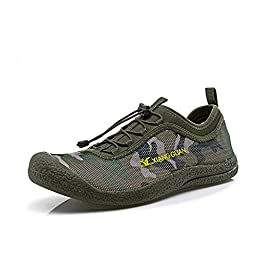 Mens Hiking Shoes Walking Sneakers Running Sports Shoes Army