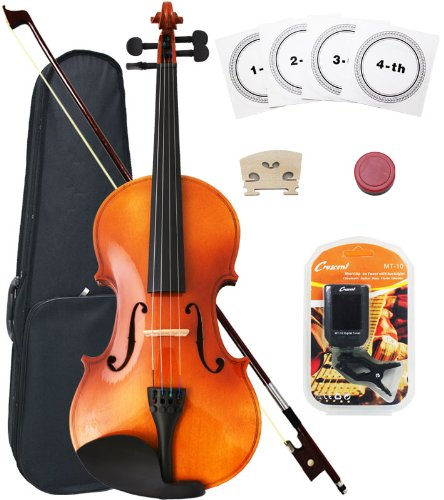 Crescent 4/4 Full Size Student Violin Starter Kit