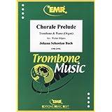 """BACH - Preludio Coral """"Ich Ruf Zu Dir"""" para Trombon y Piano (Organo) (Hilgers)"""
