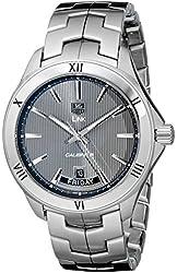 TAG Heuer Men's WAT2015.BA0951 Link Analog Display Automatic Silver Watch