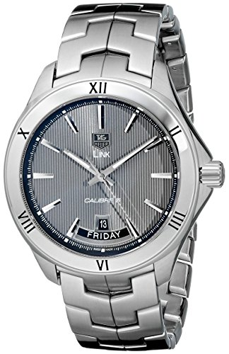 TAG-Heuer-Mens-WAT2015BA0951-Link-Analog-Display-Automatic-Silver-Watch