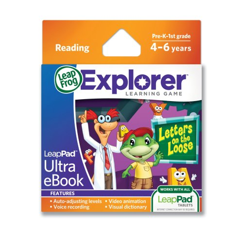 LeapFrog LeapPad Ultra eBook Letters on The Loose Game - 1