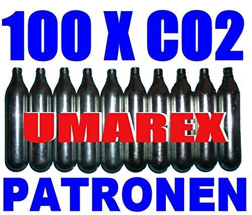 100 capsule x 12g di CO2 per softair, paintball, fucili ad aria compressa o fucili ad aria compressa