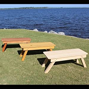 Designed For Outdoors Adirondack Coffee Table Patio Lawn Garden