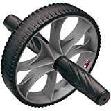 Body Sculpture Aerobic Exercise Wheel - Black/Grey