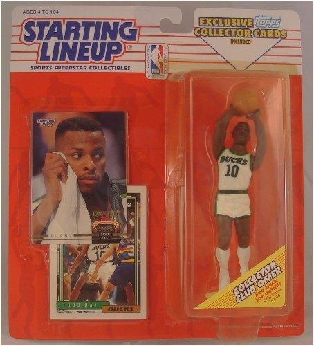Nuggets Starting Lineup: Starting Lineup NBA Basketball Todd Day Milwaukee Bucks