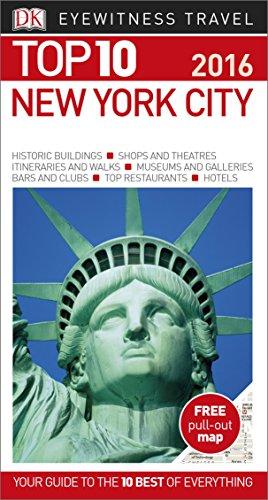 New York City. Top 10 Eyewitness Travel Guide (Eyewitness Top 10)