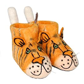 Adult Tiger Slippers