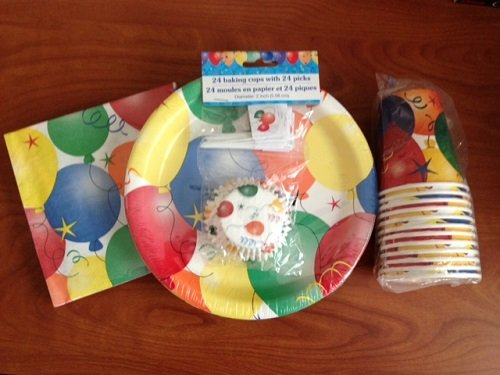 BALLOON BASH HAPPY BIRTHDAY PARTY PACK