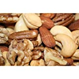 Deluxe Mixed Nuts- Roasted Unsalted, 5 Lbs